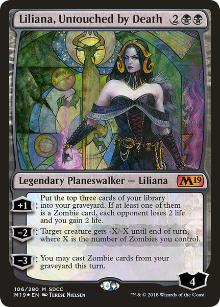 Liliana, Untouched by Death [PS18][Foil]