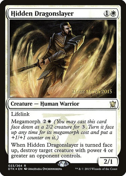 Hidden Dragonslayer [PDTK][Foil]