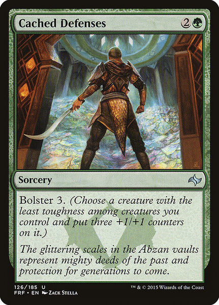 Cached Defenses [FRF]
