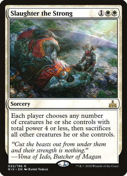 Slaughter the Strong [RIX]