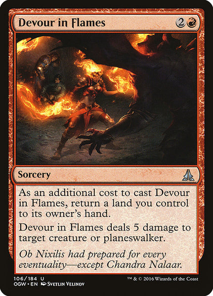 Devour in Flames [OGW]