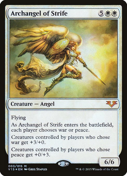 Archangel of Strife [V15][Foil]