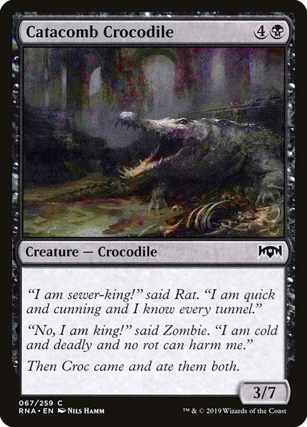 Catacomb Crocodile [RNA][Foil]