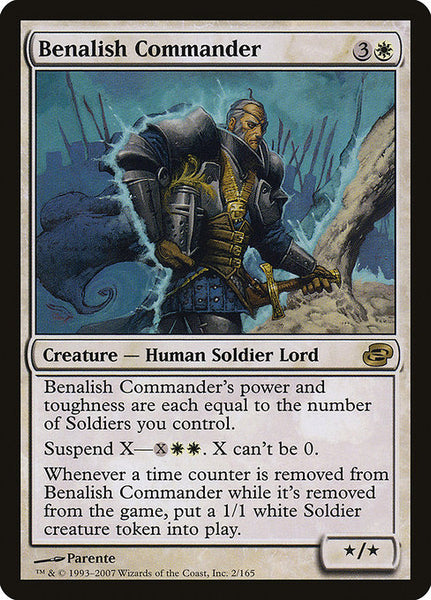 Benalish Commander [PLC][Foil]