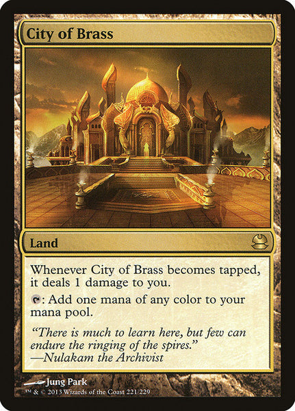 City of Brass [MMA][Foil]