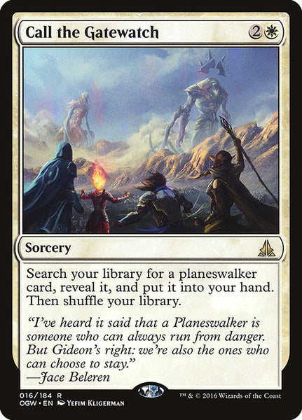 Call the Gatewatch [OGW]