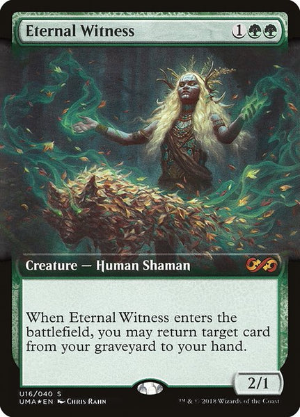 Eternal Witness [PUMA][Foil][Extended Art]