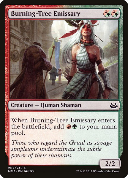 Burning-Tree Emissary [MM3][Foil]