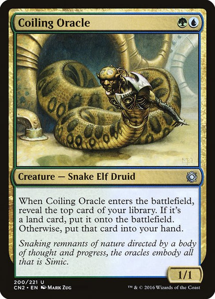 Coiling Oracle [CN2][Foil]