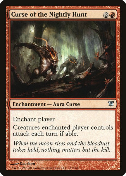 Curse of the Nightly Hunt [ISD][Foil]