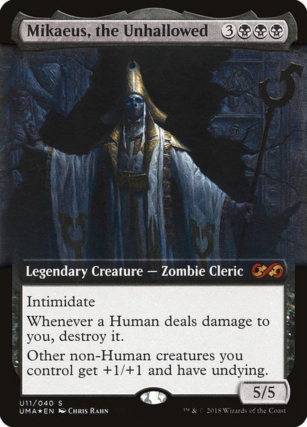 Mikaeus, the Unhallowed [PUMA][Foil] [Extended Art]