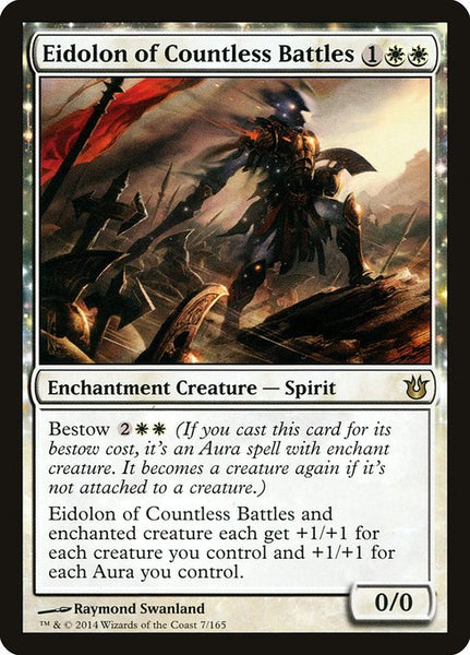 Eidolon of Countless Battles [BNG][Foil]