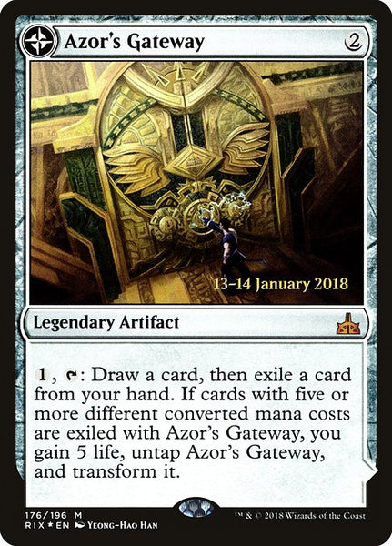 Azor's Gateway // Sanctum of the Sun [PRIX][Foil]