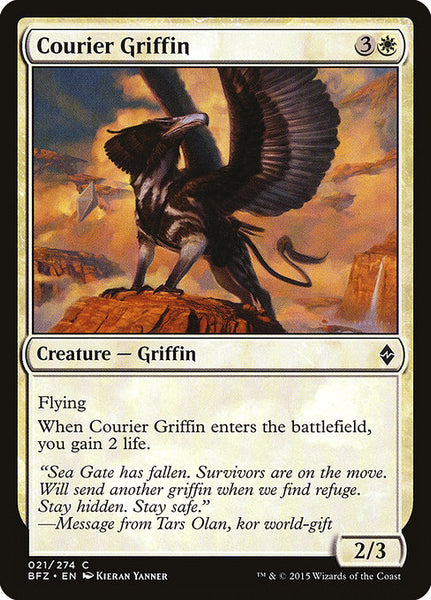 Courier Griffin [BFZ][Foil]