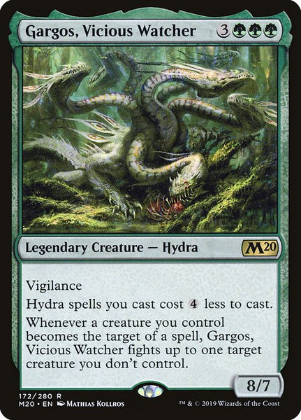 Gargos, Vicious Watcher [M20]