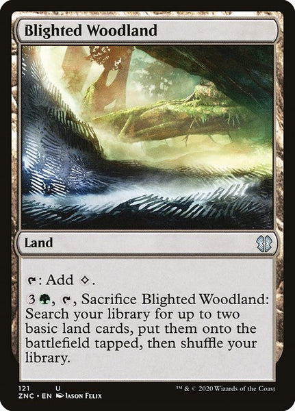 Blighted Woodland [ZNC][Foil]