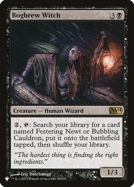 Bogbrew Witch [PLIST]