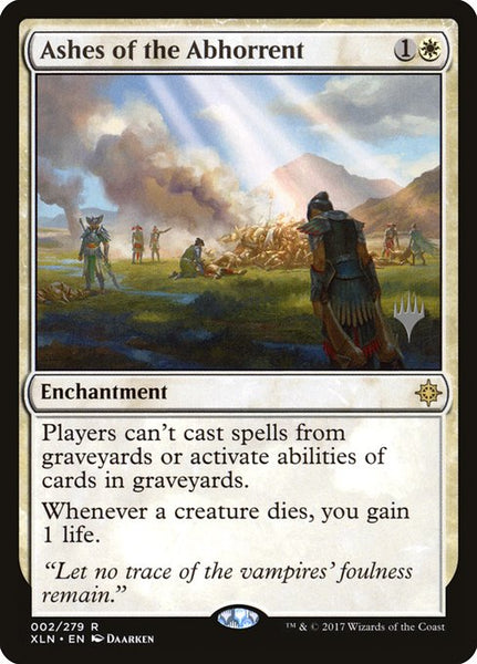 Ashes of the Abhorrent [PXLN][Foil]