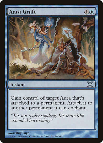 Aura Graft [10E][Foil]