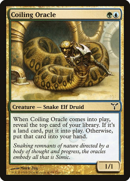 Coiling Oracle [DIS][Foil]