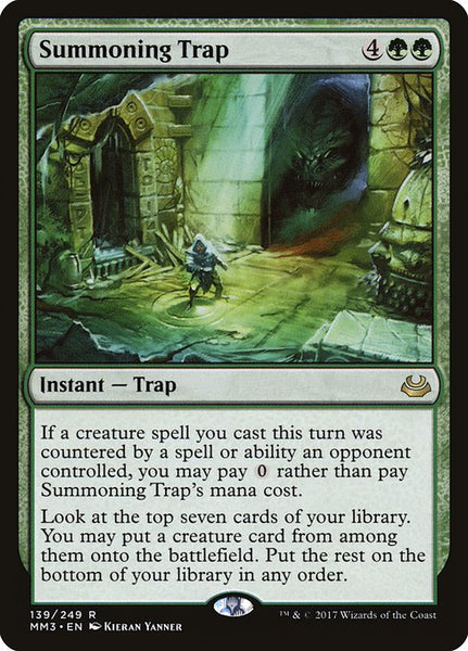 Summoning Trap [MM3]