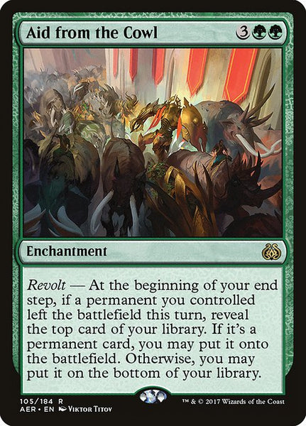 Aid from the Cowl [AER][Foil]