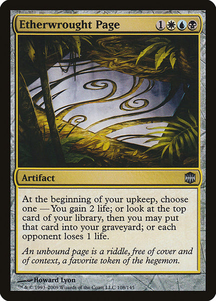 Etherwrought Page [ARB][Foil]