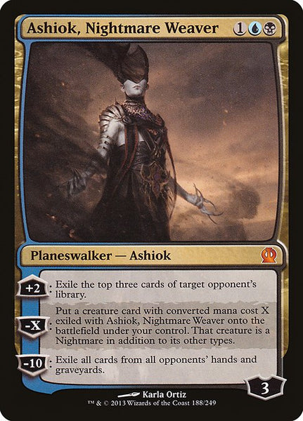 Ashiok, Nightmare Weaver [THS]