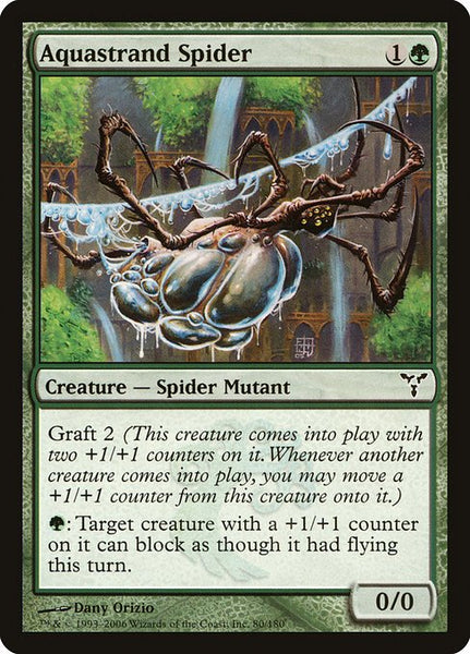Aquastrand Spider [DIS][Foil]