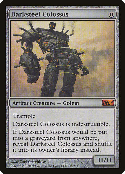 Darksteel Colossus [M10][Foil]