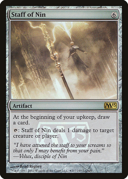 Staff of Nin [PM13][Foil]