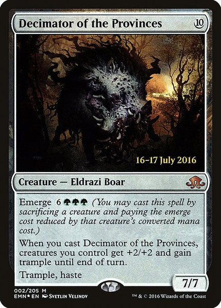 Decimator of the Provinces [PEMN][Foil]