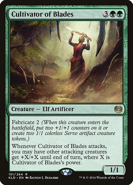 Cultivator of Blades [KLD]