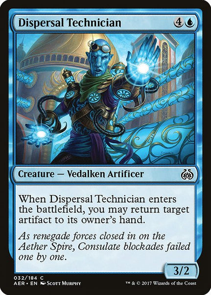 Dispersal Technician [AER]