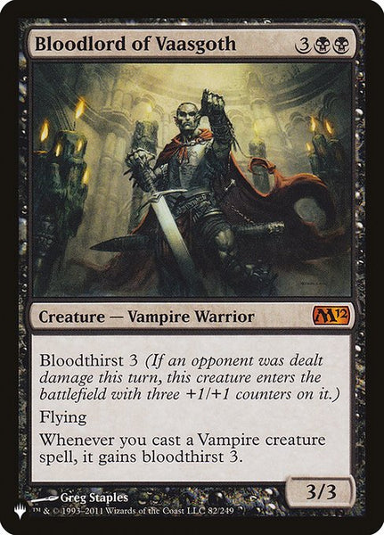 Bloodlord of Vaasgoth [PLIST]