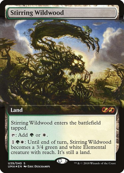 Stirring Wildwood [PUMA][Foil] [Extended Art]
