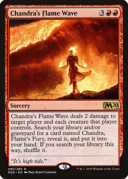 Chandra's Flame Wave [M20]