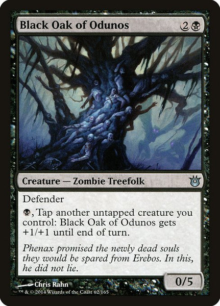 Black Oak of Odunos [BNG][Foil]