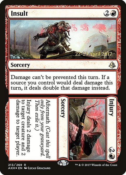 Insult // Injury [PAKH][Foil]