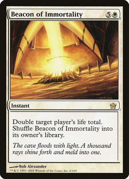 Beacon of Immortality [5DN][Foil]