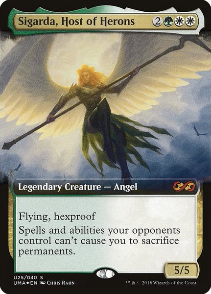 Sigarda, Host of Herons [PUMA][Foil] [Extended Art]
