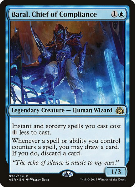 Baral, Chief of Compliance [AER]