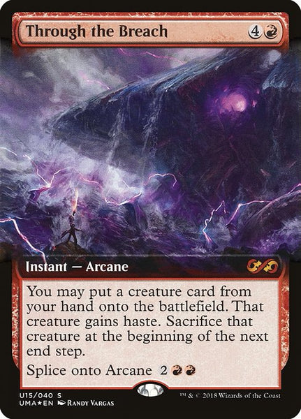 Through the Breach [PUMA][Foil] [Extended Art]