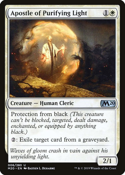 Apostle of Purifying Light [M20][Foil]