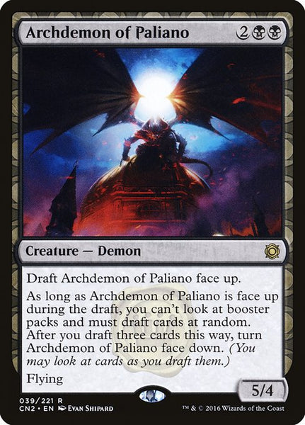 Archdemon of Paliano [CN2][Foil]