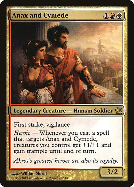 Anax and Cymede [THS][Foil]
