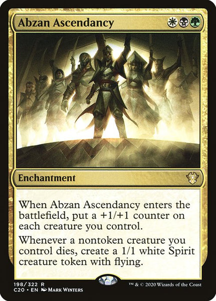 Abzan Ascendancy [C20]