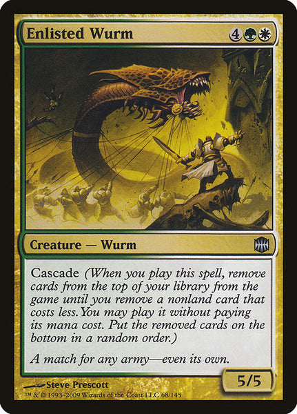 Enlisted Wurm [ARB][Foil]