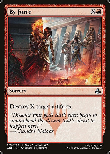 By Force [AKH][Foil]