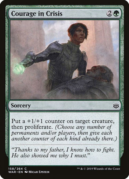 Courage in Crisis [WAR][Foil]